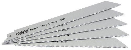 Expert 200Mm Hss Säbelsägeblätter 24TPI für Metall schneiden–Pack von 5Klingen–Expert Qualität. Für Display verpackt Fünf Klingen pro Pack. (Tpi Pack)
