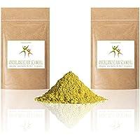 Anorganischer Schwefel (sulfur) - 1 kg (2 x 500 g) - BESTSELLER - 99,9% pharmazeutisch rein (Ph. Eur.) - fein gemahlen - Schwefelpulver - aus Naturrohstoff - säurearm