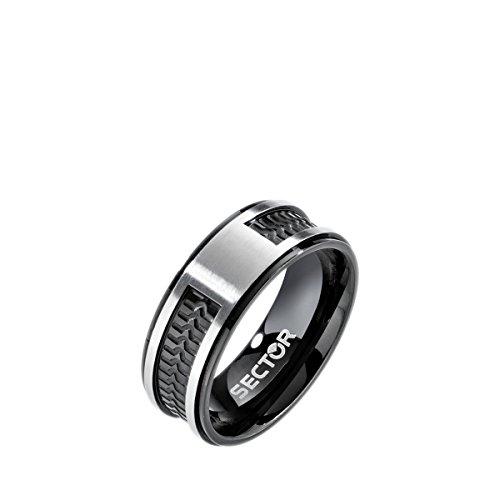 Sector gioielli anello fede semplice uomo acciaio_inossidabile - sacx06019