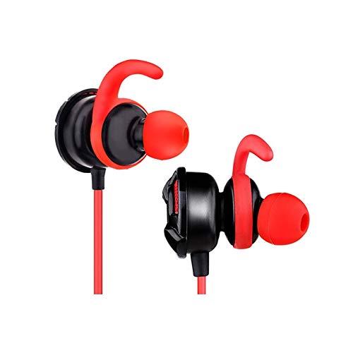 TGSKGZKJDBMD Headsets In Ear Game Ohrhörer 3,5 mm Gaming Earbuds Ohrhörer, in Ohr Kopfhörer Headset mit Dual Mic für PC, Telefon, Farbe Zeigen