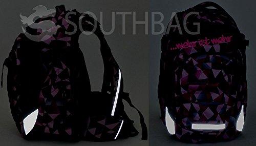 b260382326c2a Home · Schulbedarf · Satch Match - 3tlg. Set Schulrucksack - Purple Leaves  · zurück ·   vor