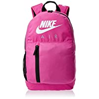 Nike Unisex-Child Backpack, Fuchsia/Black/White - NKBA5767
