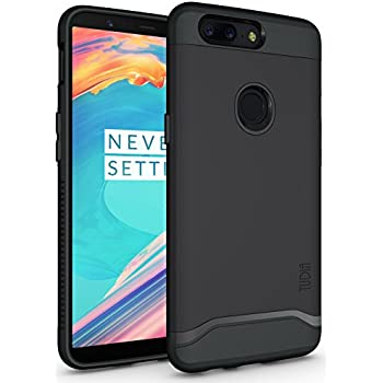 new style 08a37 a8412 TUDIA OnePlus 5T Case, Slim-Fit HEAVY DUTY [MERGE] EXTREME  Protection/Rugged but Slim Dual Layer Case for OnePlus 5T (2017 Version)  (Matte Black)