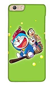 PrintHaat 3D Hard Polycarbonate Designer Back Case Cover for Micromax Canvas Knight 2 E471