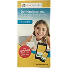 Protect Your Kid Lizenz für 6 Monate - Android Kindersicherungs App, Kinderschutz für Handy, Smartphone und Tablet