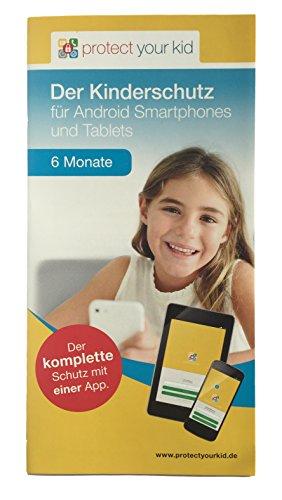 Protect Your Kid Lizenz für 6 Monate - Android Kindersicherungs App, Kinderschutz für Handy,...