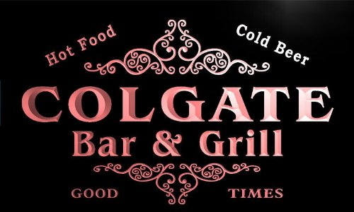 u08653-r-colgate-family-name-bar-grill-cold-beer-neon-light-sign-enseigne-lumineuse