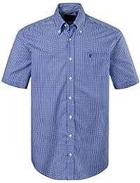 Kleidung & Accessoires Casamoda Herrenhemd Kurzarm Bügelfrei Gr.42 In Grau Herrenmode