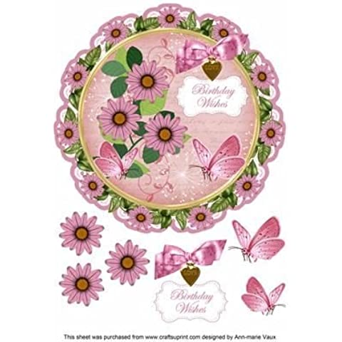 Pink Daisy Birthday Wishes