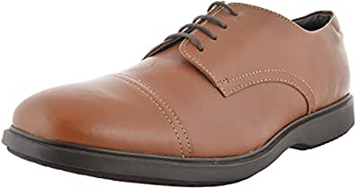 Canguro Men's Tan Leather Formal Shoes - 12 UK