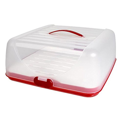Emsa Superline Partybutler Plus mit Universaleinsatz und Akku, Essentransportbox, Rot / Weiß, 515523