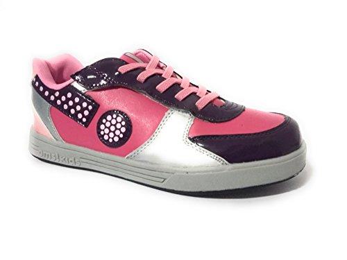 ORIGINAL MARINES sneakers bimba con lacci e velcro laterale (35)