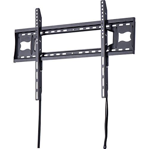 AmazonBasics - Soporte de pared plano con riel, para televisión, de 127 a 215,9 cm 50-85