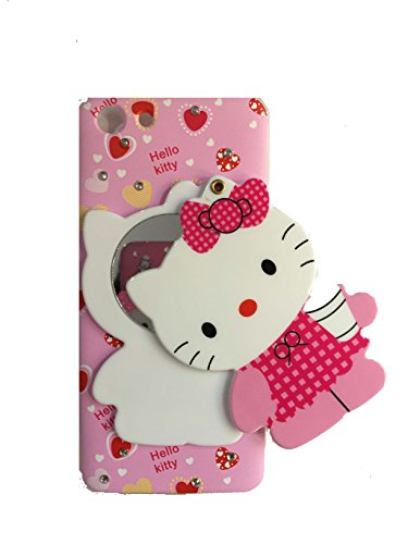 new product 2cb1e 42afe Dream2Cool Mirror Hello Kitty Special Girl's Designer Back Case Cover for  Oppo A83 (Colours May Vary)