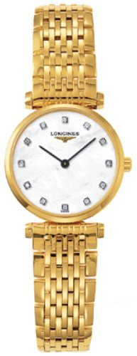 Longines La Grande Classique Madre de Perla Diamante Damas Reloj l42092878por Longines