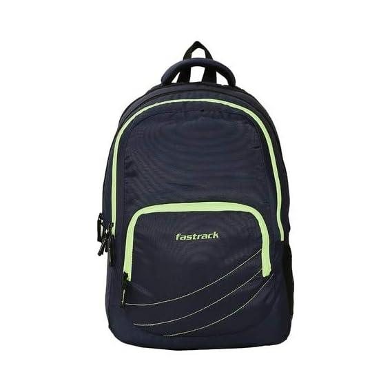 Fastrack Black Backpack