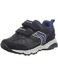 Geox J Xitizen C - Zapatillas de Cuero para Niño, Color Negro, Talla 33