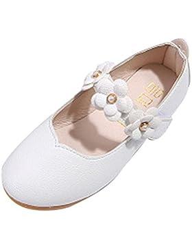 Zapatos Niña Primavera Verano ❤️ Amlaiworld Sandalias de flores Bebé Niña Zapatos planos Zapatillas de princesa...