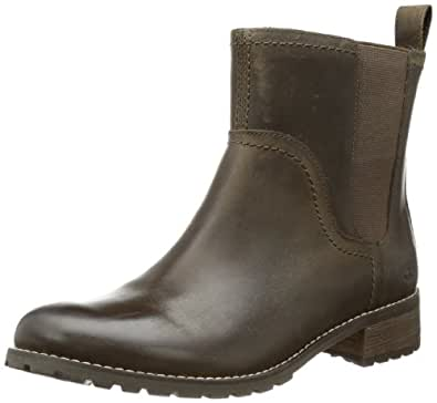 Timberland Bethel FTW_EK Bethel Chelsea 3351R, Damen Chelsea Boots, Braun (Dark Olive), EU 36 (US 5.5)