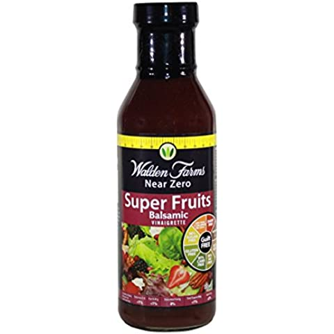 Walden Farms Da 355ml Superfrutto Balsamico Calorie Gratis Insalata Dressing