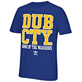 Adidas NBA pour homme City Stack T-shirt, Homme, Golden State Warriors-Dub City