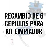 Ersatzteil 6 Bürsten für Reiniger Set für Ketten Ref 5095