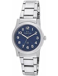 Maxima Analog Blue Dial Women's Watch-O-46660CMLI