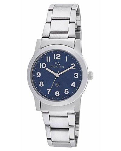 Maxima Analog Blue Dial Women's Watch - O-46660CMLI