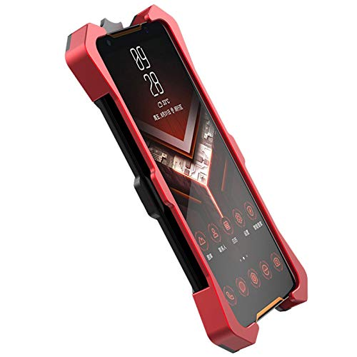 lichifit zimon custodia protettiva per coperture in armatura pesante in metallo per asus rog phone 2 zs660kl