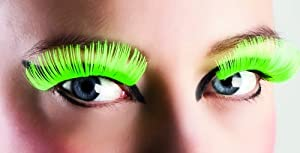 Boland BOL01617 - Pestañas largas autoadhesivas, color verde