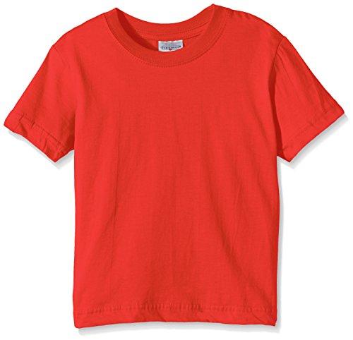 Stedman Apparel Jungen T-Shirt Gr. 12 Jahre, Rot - Scarlet Red (Scarlet Kinder T-shirt)