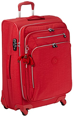 Kipling - YOURI SPIN 68  - 71 Litres - Trolley - Jazzy Blue - (Bleu) Vibrant Red
