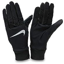 Nike 082 - Guanti da Corsa Leggeri da Uomo, Uomo, N.RG.M0.082.SL, Nero, S