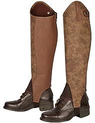 Harry 's Horse–Botas de mango Velvet Marrón marrón