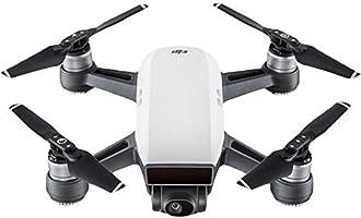 DJI - Spark (Version UE) - Sommet Blanc | Quadricoptère avec Caméra | Mini Drone | Offre 16-Min de Vol | Caméra Haute Performance pour Photos & Vidéos | Contrôle Simple | Transmission Vidéo Wi-Fi HD