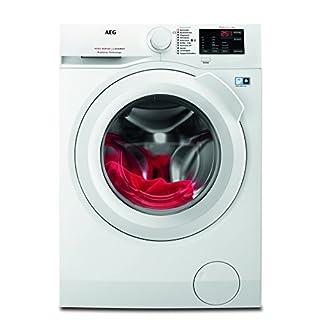 AEG L6FB54480 Waschmaschine Frontlader / schonende und effiziente Reinigung / freistehende Waschmaschine mit 8 kg Schontrommel und XXL-Türöffnung / Energieklasse A+++ (156 kWh/Jahr) / weiß