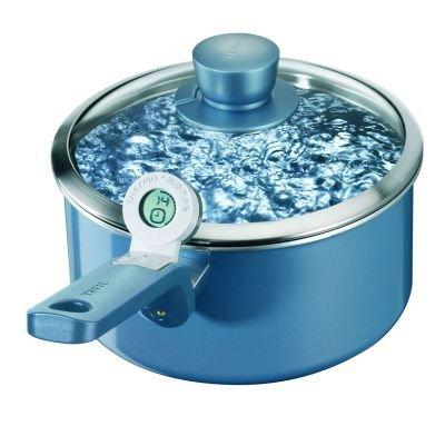 Tefal Performa cazuela inducción cacerola 18cm con tapa azul *