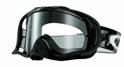 Oakley Mx Goggle CROWBAR, Jet Black Speed w/Clear, UNI, 57-951
