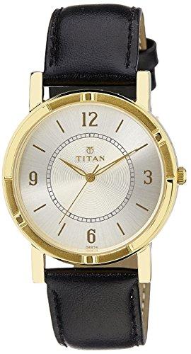 41yKtibe1pL - Titan 1639YL02 Silver Mens watch