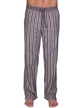Pantalones de pijama de Luca David Olden Glory con cómodo, corte amplio y bonito diseño vintage de 100% algodón...