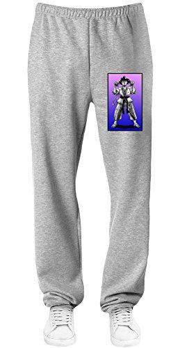 Makoto Graphic Illustration Sweatpants Small