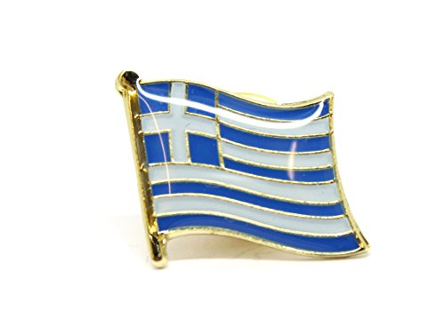 National Land Flagge Griechenland Emaille Brosche | Hohe Qualität Metall Emaille Pin...