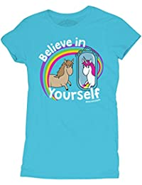 David and Goliath Believe Womens T-shirt