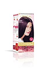 LOreal Paris Excellence Hair Color Small Pack No.3.16, Burgundy 24ml +26g