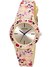 Sonata Analog Multi-Colour Dial Women's Watch -NK8992PP07