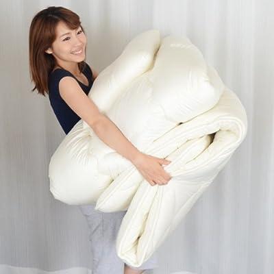 EMOOR - Made in Japan Japanese Futon Set CLASSE ZERO Single Size, 3 Pieces Set + Vaccum Seal Set Cotton 100% (japan import)