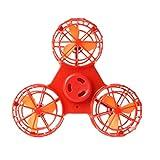TAOtTAO Kleines Spielzeug Drone Flying Zappeln Spinner Stress Relief Geschenk Flying Gyroskop Spielzeug (Rot)