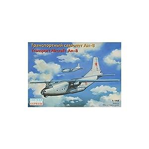 """Ark Models EE14496 - Escala 1:144 """"Antonov An-8 Aviones de Transporte Militar Ruso/Las Fuerzas aéreas soviéticas Modelo de plástico"""