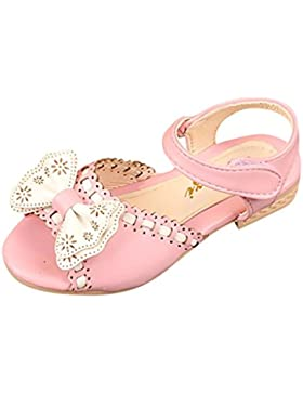 Malloom Niñas Infantiles Bowknot Princesa Ballet Fiesta Sandalias Zapatos Casuales de la Boda