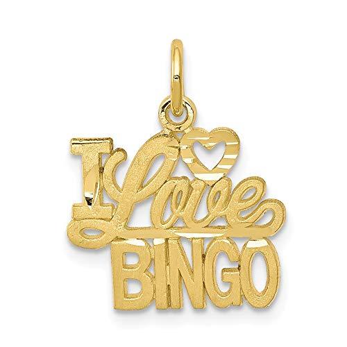 Jewels By Lux Damen alking ich liebe Bingo Charme